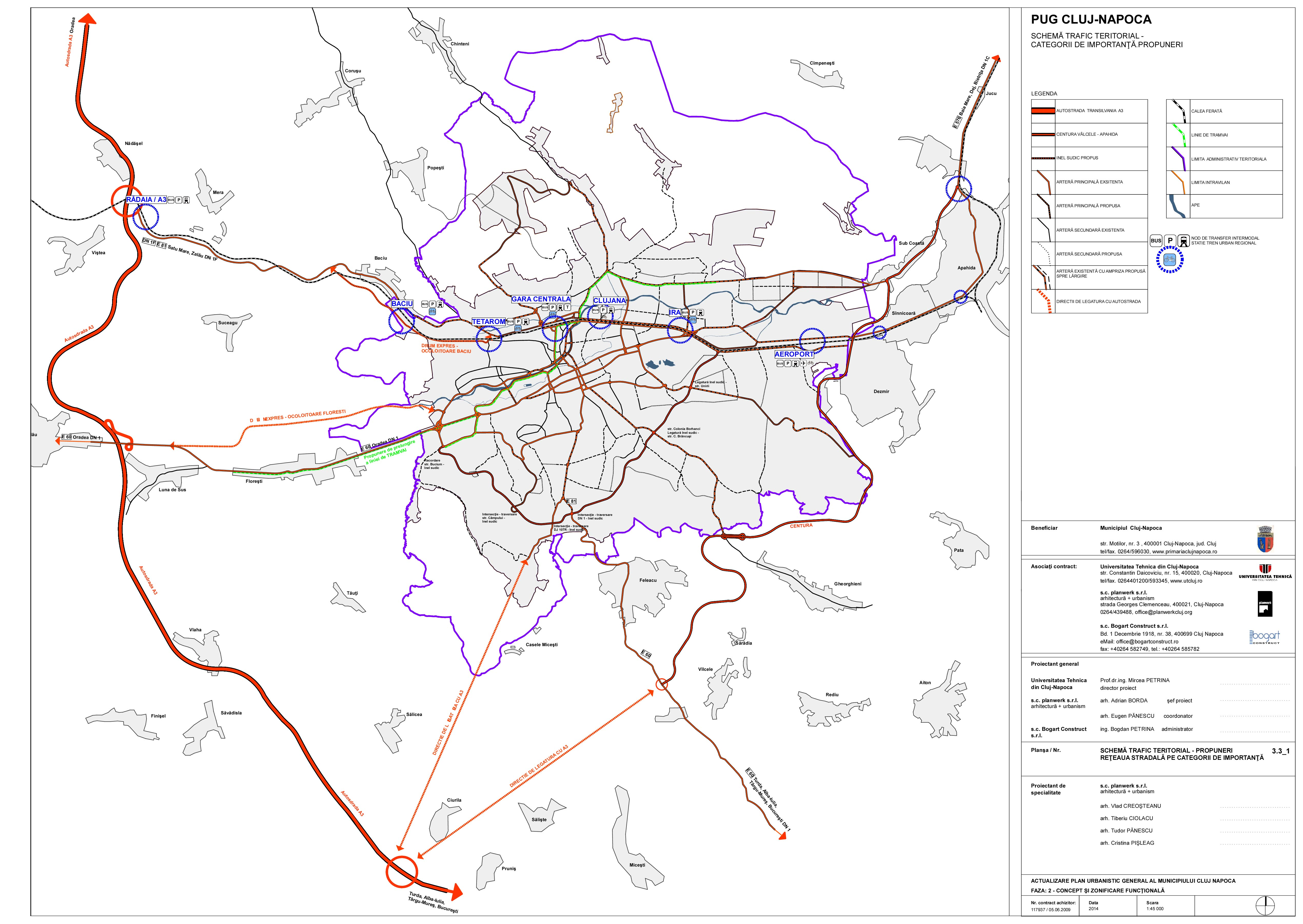 Plan Urbanistic General Cluj Napoca